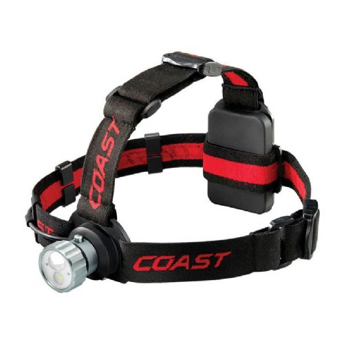 Coast HL45 400 Lumen Head Torch, White and Red Light
